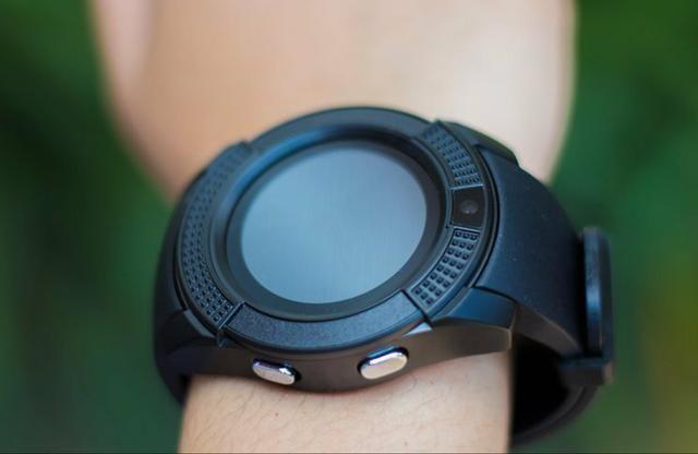 (oferta)smartwatch v8/r$69,99/faz e recebe ligações/aceita chip/tora foto/mp3 - Foto 2
