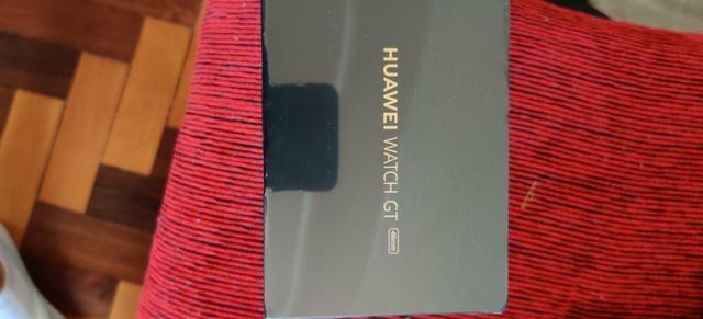Relogio Smartwhatch Huawei GT 46mm- aceito cartão