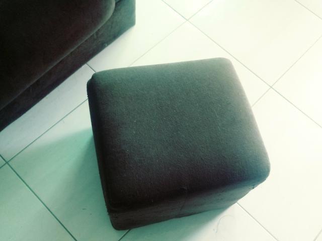 Sofa e puff para doação - Foto 2