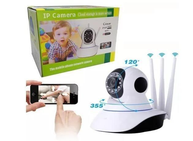 Câmera Ip Wifi Infravermelho Visão Noturna