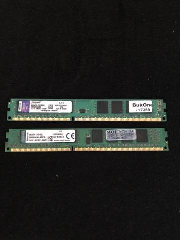 Memórias Kingston 4 GB ddr3 1333