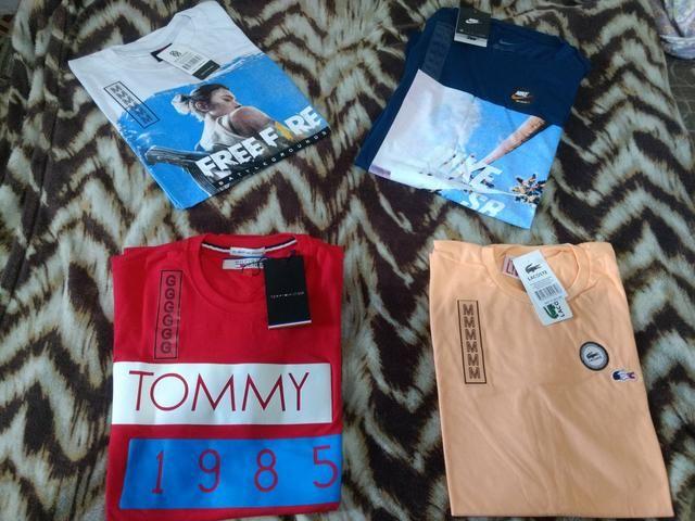 Camisas premium fio 30.1 aceito. cartão - Foto 5