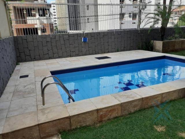 Apartamento com 3 dormitórios para locação ou venda, 150 m² por r$ 500.000 - meireles - fo - Foto 6