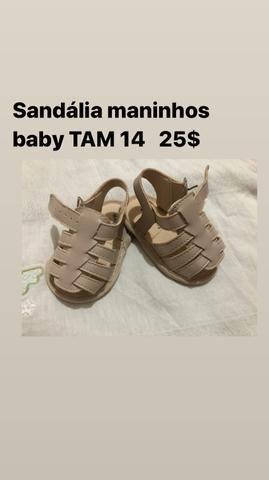Sandália maninhos baby