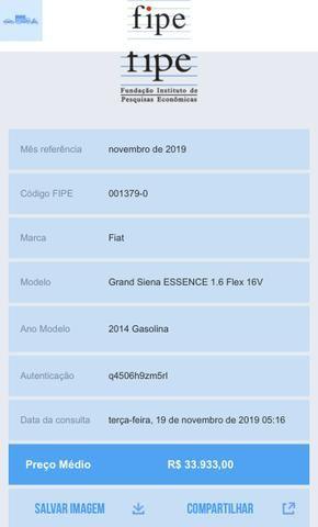 Grand Siena Essence 1.6 16V 2014 - Foto 4