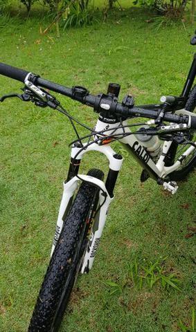 Bicicleta caloi elite carbon Original XT 12x Sem Juros - Foto 4