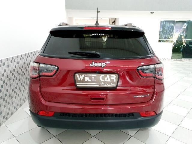 Jeep Compass Sport 2.0 16v Flex 2019 Vermelho Único Dono - Foto 4