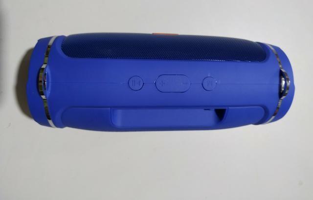 Vendo Jbl Xtreme Mini Nova Azul Ótima Qualidade de Som - Foto 4