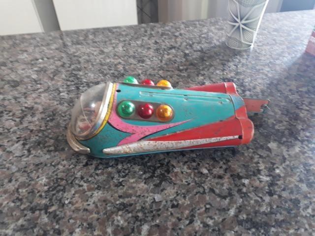 Brinquedo anos 50 nave espacial - Foto 5