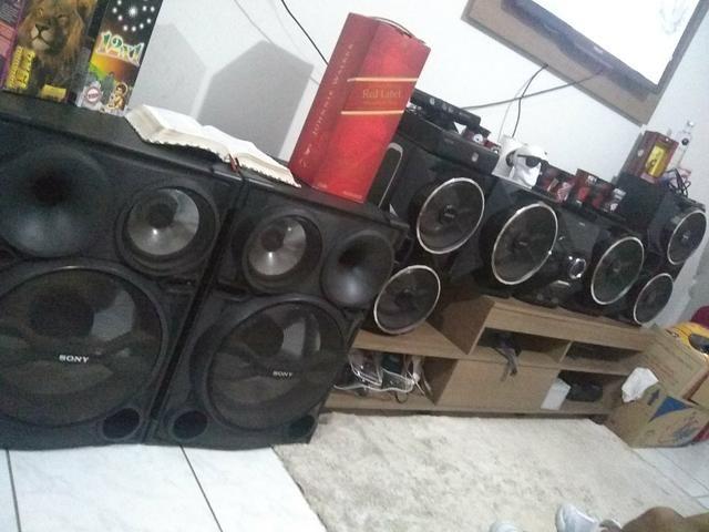 Caixas de som da sony - Foto 2