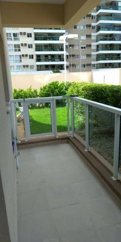 Luar do Pontal | Apartamento no Recreio de 3 quartos com suíte | Real Imóveis RJ - Foto 3