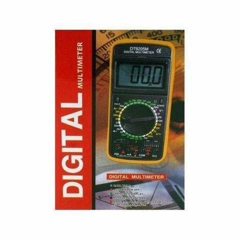 Multímetro digital com capacímetro (aceito cartão) - Foto 2