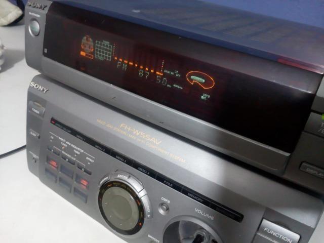 Micro System Sony Fh-w55av Receiver - Foto 4