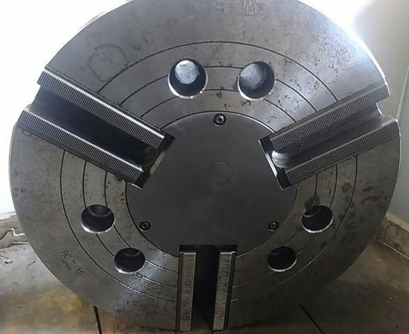 Placa hidráulica 15 polegadas para torno CNC Nova