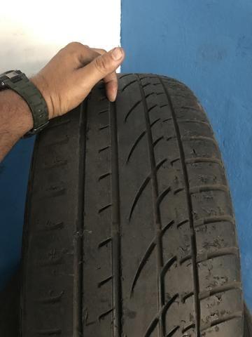 Vendo pneu aro 19 255/55 pneus com mais de 70% de borrachas - Foto 2