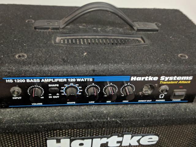 Amplificador de Baixo Hartke Kickback 15 - Foto 2