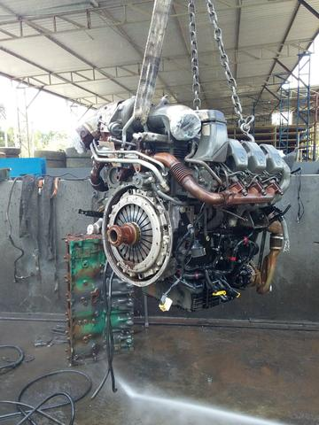 Motor MB Actros V6 2011 - Foto 4