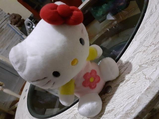 Pelucia Hello kitty 15Cm