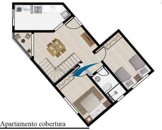 Apartamento a venda 2 quartos Havaí - Foto 3