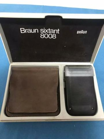 Máquina de Barbear Vintage - Braun 8008 (1973)