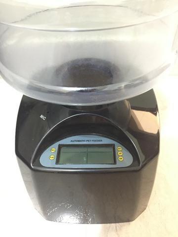 Alimentador automático para cães e gatos, usado por 1 semana - Foto 4