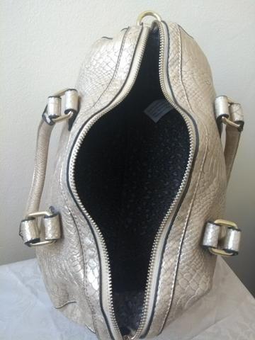 Bolsa metalizada dourada WJ - Foto 3
