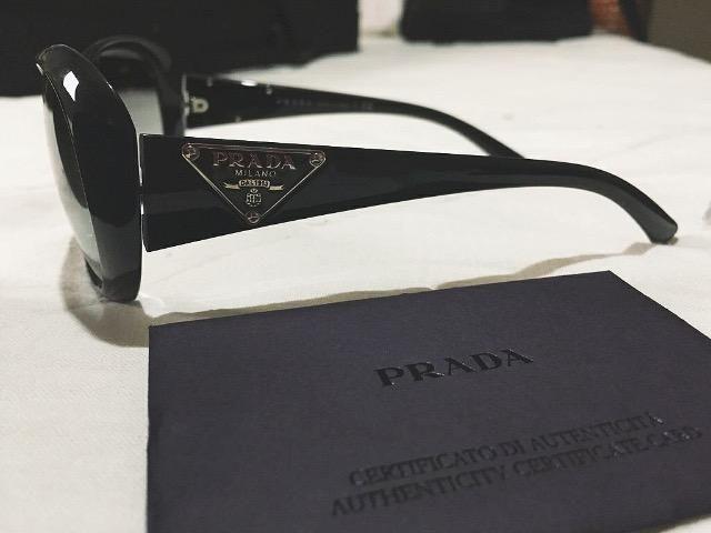Óculos de sol feminino Prada original - Bijouterias, relógios e ... d43e2dc2e4