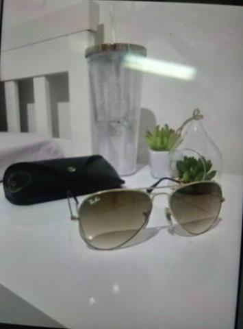 Óculos Ray-Ban Aviador - Bijouterias, relógios e acessórios - Jardim ... 03fd0aeddd