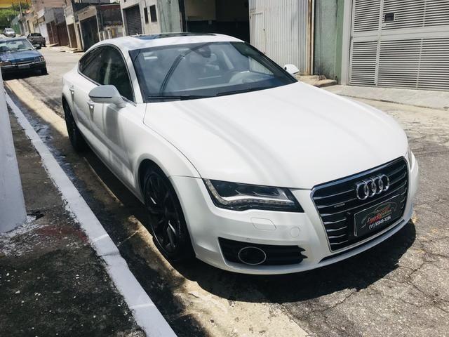 Audi a 7 v6 gasolina mais nova de São Paulo impecável único dono blindada ?
