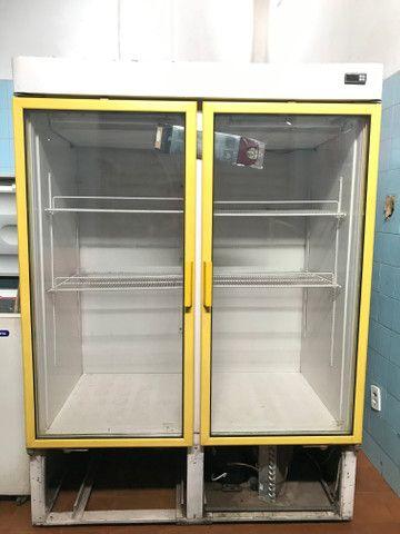 Refrigerador Duplo - seminovo - Foto 2