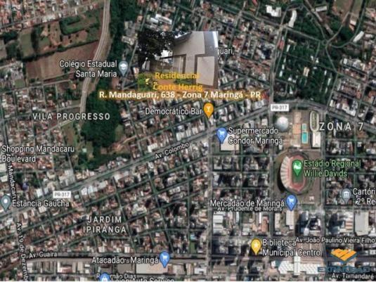 Apartamento à venda com 1 dormitórios em Zona 07, Maringá cod:1110007002 - Foto 11