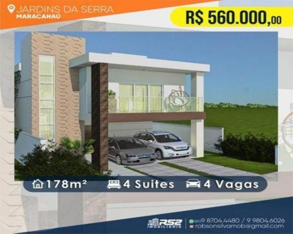 Casa em Condomínio para Venda em Maracanaú / CE no bairro Cágado, Casa a venda Jardins da  - Foto 8