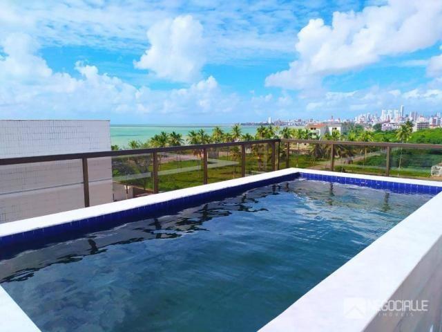 Apartamento com 2 dormitórios à venda, 63 m² por R$ 290.000,00 - Intermares - Cabedelo/PB - Foto 5