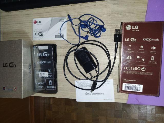 Lg G3 D855 16gb 4g Em Perfeito Estado E Completo Na Caixa - Foto 2