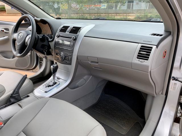 Toyota Corolla 2012 XEI automático ( Vendo à vista ou financiado ) Ac.troca - Foto 13