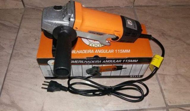 Esmerilhadeira 1100 rpm  - Foto 3
