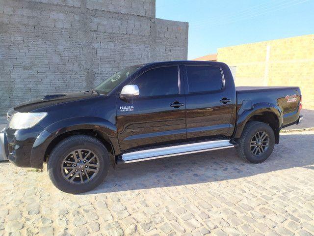 Hilux CD 4x4  SRV diesel 2013/2014 - Foto 3