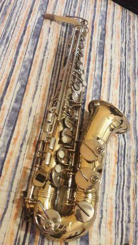 Sax alto weril sênior original de fábrica  - Foto 4