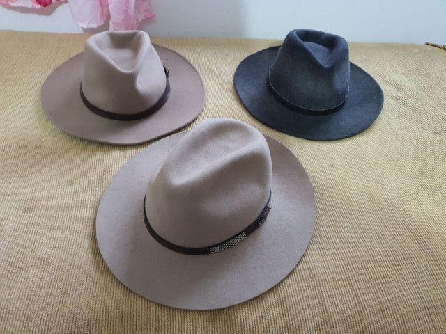 Torro 3 chapéus Prada originais R$ 150,00 - Foto 6