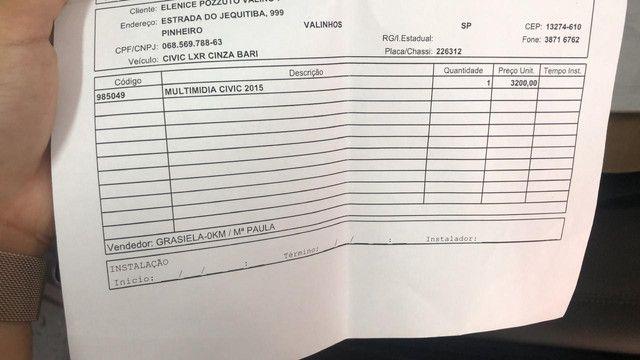 Multimidia Honda Civic G9 15/16 - Foto 6