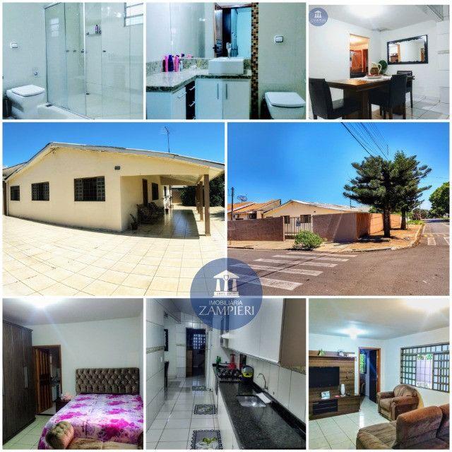 Casa de Aprox. 140 m² em Terreno de Esquina de 317,56 m² em Iguaraçu, Pr