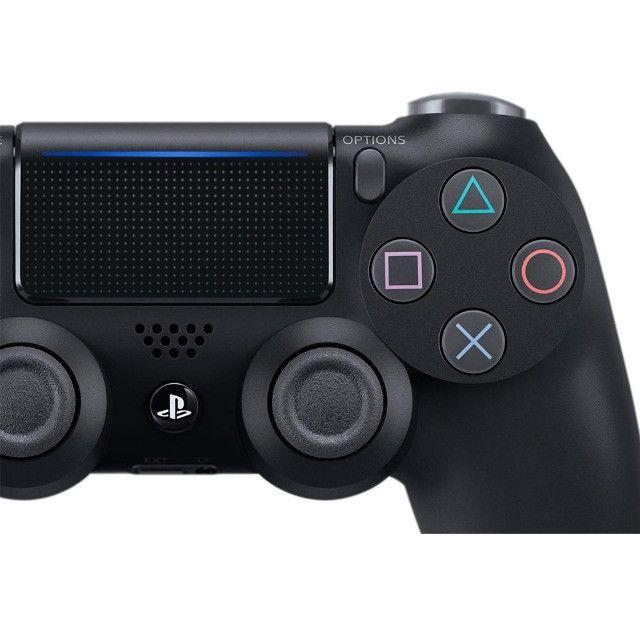 Controle Sony Dualshock 4 PS4, Sem Fio, Preto - CUH-ZCT2U - Foto 3