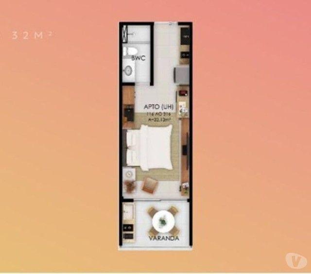Flat para venda possui 32 metros quadrados com 1 quarto em Muro Alto - Ipojuca - PE - Foto 11
