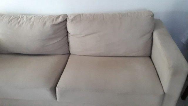Sofa. Dóis metros e dez de comprimento. - Foto 6