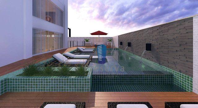 ENTREGA PARA 2024. Apartamento diferenciado, com amplo terraço e único no andar, no Centro - Foto 6