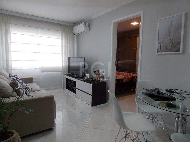 Apartamento à venda com 1 dormitórios em São sebastião, Porto alegre cod:SC12724