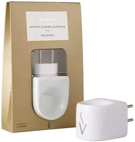 Aromatizador Difusor de Aromas Elétrico Standard Via Aroma Aromaterapia Bivolt