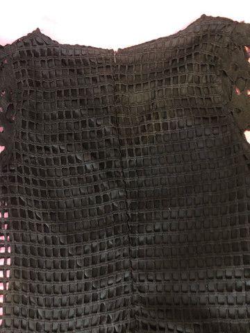 Vestido feminino renda preto passo cartão  - Foto 2