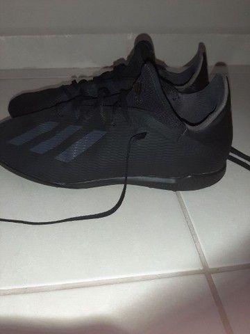 Chuteira Adidas Society x 19 3 Tf Preto<br><br> - Foto 4