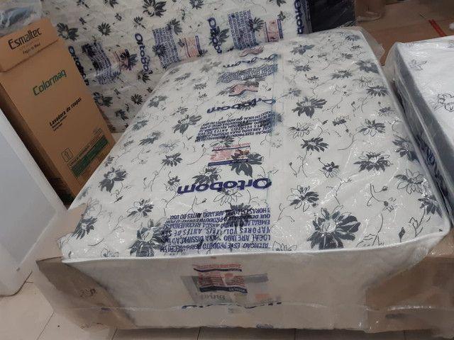 Cama unibox casal de molas ortobom nova (não separa o colchão) 1,000 avista